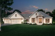 Farmhouse Style House Plan - 3 Beds 2 Baths 2002 Sq/Ft Plan #430-240 Exterior - Front Elevation