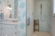 Cottage Style House Plan - 4 Beds 3 Baths 2483 Sq/Ft Plan #938-87 Interior - Master Bathroom