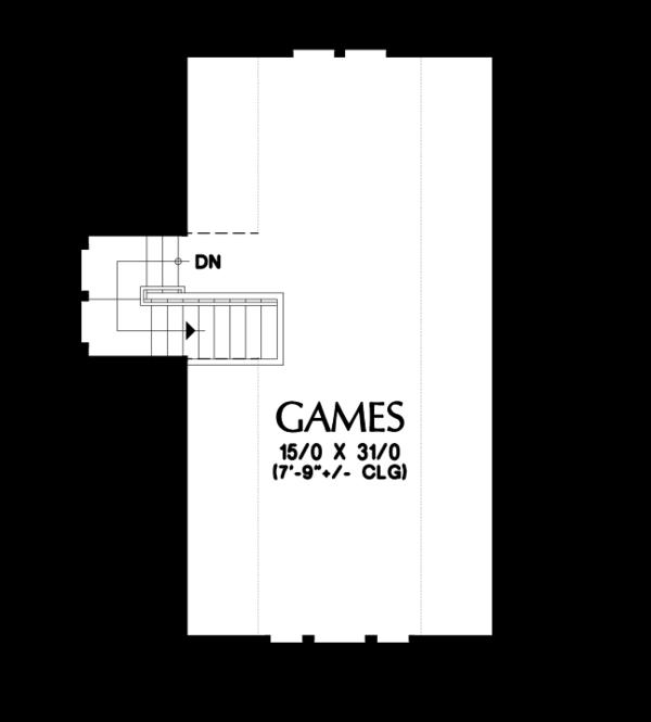 Craftsman Floor Plan - Other Floor Plan #48-678