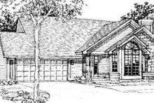 Traditional Exterior - Other Elevation Plan #320-117