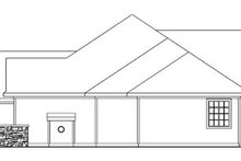 Ranch Exterior - Other Elevation Plan #124-744