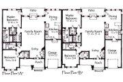 Craftsman Style House Plan - 2 Beds 2 Baths 3012 Sq/Ft Plan #921-18 Floor Plan - Main Floor Plan