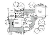 Traditional Style House Plan - 3 Beds 2 Baths 2065 Sq/Ft Plan #120-130 Floor Plan - Main Floor