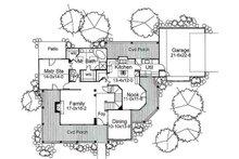 Traditional Floor Plan - Main Floor Plan Plan #120-130