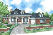Colonial Style House Plan - 3 Beds 2.5 Baths 2191 Sq/Ft Plan #930-287 Exterior - Front Elevation