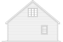 Country Exterior - Rear Elevation Plan #932-130