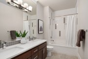 Contemporary Style House Plan - 5 Beds 4.5 Baths 4039 Sq/Ft Plan #1066-14 Interior - Bathroom