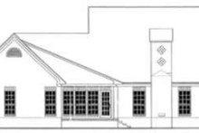 Dream House Plan - European Exterior - Rear Elevation Plan #406-240