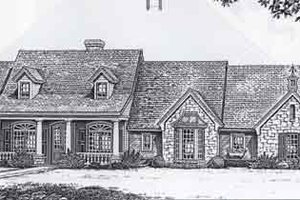 Farmhouse Exterior - Front Elevation Plan #310-784