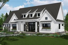 Home Plan - Farmhouse Exterior - Front Elevation Plan #51-1137