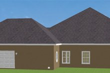 House Plan Design - Southern Exterior - Other Elevation Plan #44-127