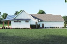 Dream House Plan - Farmhouse Exterior - Other Elevation Plan #1070-129