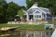 Farmhouse Style House Plan - 3 Beds 2.5 Baths 2781 Sq/Ft Plan #928-344 Exterior - Front Elevation