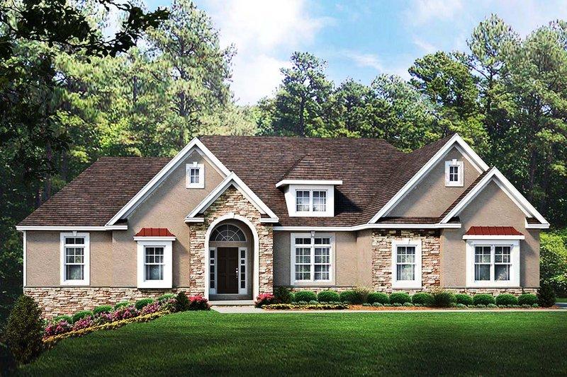House Plan Design - Ranch Exterior - Front Elevation Plan #1010-235