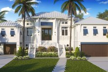House Plan Design - Beach Exterior - Front Elevation Plan #27-571