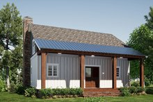 Home Plan - Country Exterior - Rear Elevation Plan #923-207