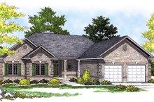 House Design - European Exterior - Front Elevation Plan #70-778