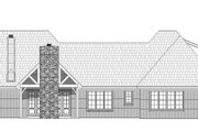 Country Style House Plan - 4 Beds 3.5 Baths 3565 Sq/Ft Plan #932-147 Exterior - Rear Elevation