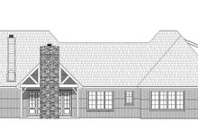 Country Exterior - Rear Elevation Plan #932-147