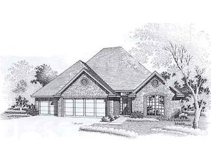 Traditional Exterior - Front Elevation Plan #310-907