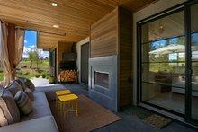 House Plan Design - Contemporary Exterior - Covered Porch Plan #892-21