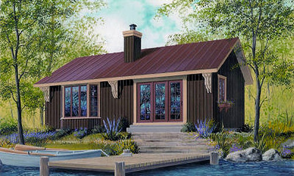 Cottage Style House Plan 2 Beds 1 Baths 874 Sq Ft Plan 23