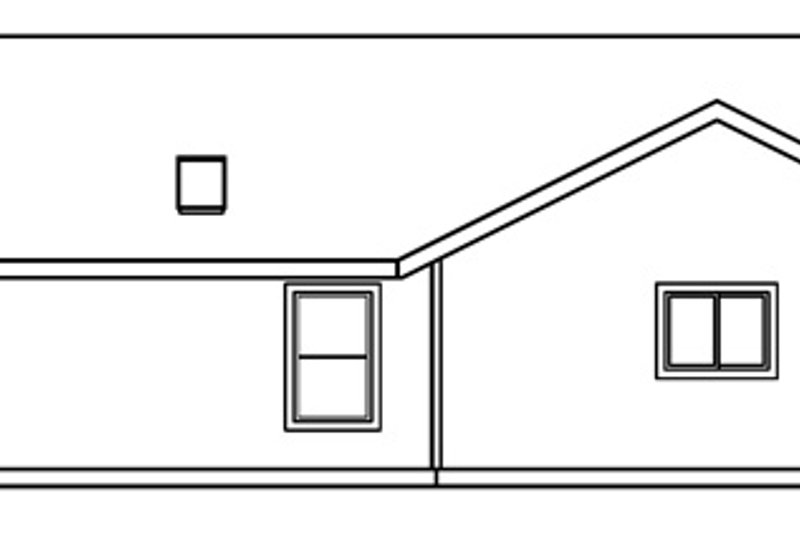 Exterior - Other Elevation Plan #124-458 - Houseplans.com