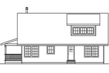 House Plan Design - Cottage Exterior - Other Elevation Plan #124-473