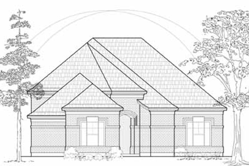 Traditional Exterior - Front Elevation Plan #61-207 - Houseplans.com