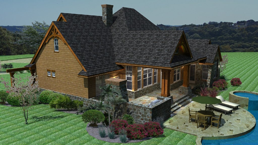 Craftsman Style House Plan - 3 Beds 2.5 Baths 2091 Sq/Ft ...