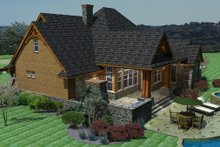 Home Plan - Craftsman Exterior - Other Elevation Plan #120-162