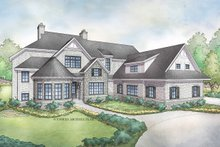 Architectural House Design - Traditional Exterior - Front Elevation Plan #928-331