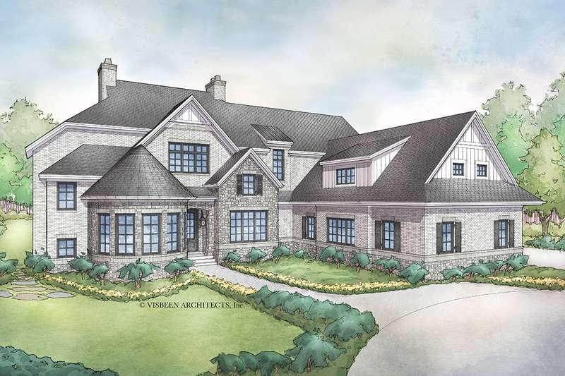 Dream House Plan - Traditional Exterior - Front Elevation Plan #928-331