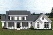 Farmhouse Style House Plan - 4 Beds 4.5 Baths 3353 Sq/Ft Plan #898-50 Exterior - Front Elevation