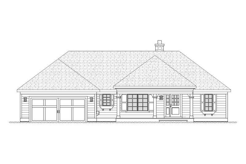 House Plan Design - Ranch Exterior - Front Elevation Plan #901-63
