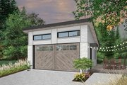 Contemporary Style House Plan - 0 Beds 0 Baths 480 Sq/Ft Plan #23-2635 Exterior - Front Elevation