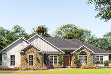 Craftsman Exterior - Front Elevation Plan #923-156