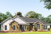 Architectural House Design - Craftsman Exterior - Front Elevation Plan #923-156