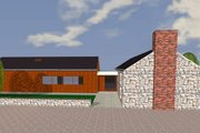 Ranch Style House Plan - 2 Beds 3 Baths 2479 Sq/Ft Plan #520-9 Exterior - Other Elevation