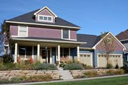 Farmhouse Style House Plan - 4 Beds 2.5 Baths 2637 Sq/Ft Plan #51-459 Exterior - Front Elevation