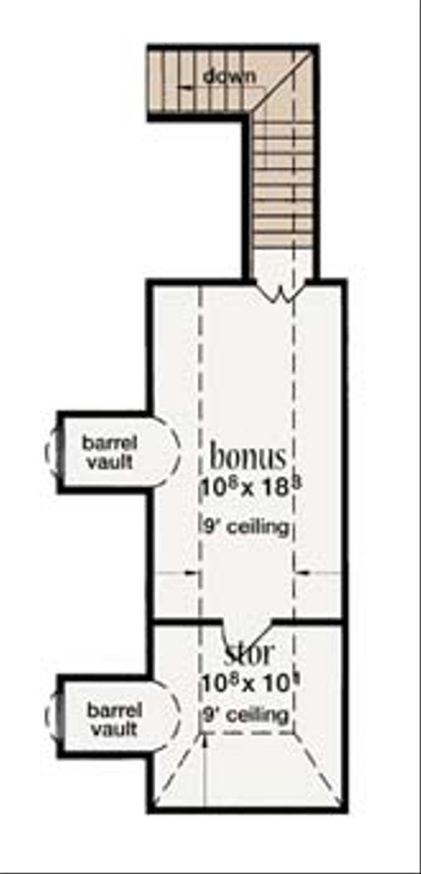 European Floor Plan - Other Floor Plan Plan #36-467