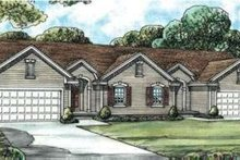 Architectural House Design - Traditional Exterior - Front Elevation Plan #20-1564