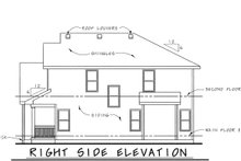 House Plan Design - Craftsman Exterior - Other Elevation Plan #20-1776