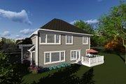 Craftsman Style House Plan - 4 Beds 2.5 Baths 2611 Sq/Ft Plan #70-1278