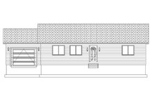 Home Plan - Ranch Exterior - Front Elevation Plan #1060-3