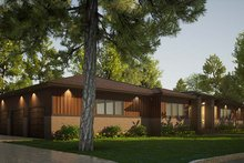 Architectural House Design - Contemporary Exterior - Other Elevation Plan #923-201