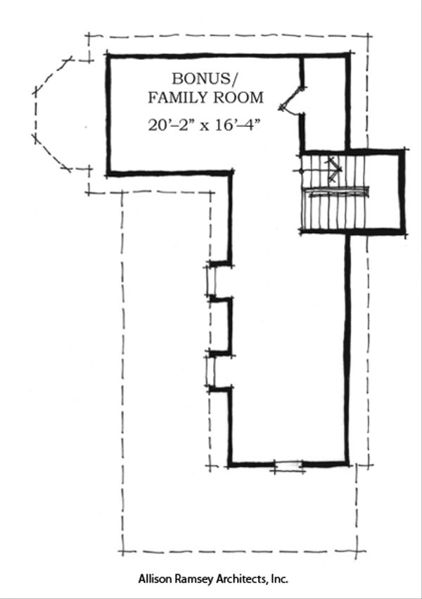 Southern Style House Plan - 4 Beds 3.5 Baths 2678 Sq/Ft Plan #464-1 Floor Plan - Other Floor Plan