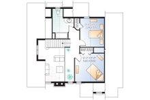 Cottage Floor Plan - Upper Floor Plan Plan #23-2047