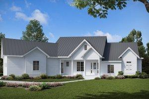 Farmhouse Exterior - Front Elevation Plan #54-383