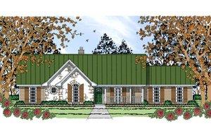 Farmhouse Exterior - Front Elevation Plan #42-404